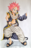 Little Natsu - COPIC by TobeyD