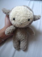 (SOLD) Little Sheep Plush by judithchen