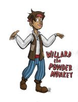 Willard the Powder Monkey by t3h-puppeteer