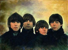 The Beatles's 50th anniversary by Priapo40