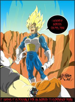 Vegeta vs Android 19: Generated Fear! by FightingArts