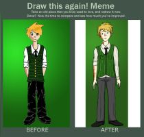 Draw this again! Dude in a Suit by vampireromancechick