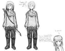 (Child) Katsuo small reference by Kammii-chan