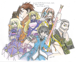 Tales of Xillia group by AetherWings