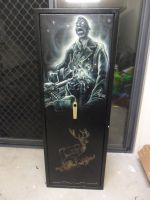 Airbrushed Gun Safe Zombie 2 by Mathius88