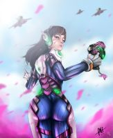 D.VA in actiion by HappyMeals69