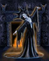 Gothic Queen by beccacox