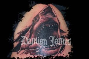 Jaws by Damianink