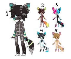 Xx Drip Cat Mixed Adopts xX by BleedingColorAdopts