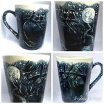 Dark Trail Coffee Mug - made to order at my shop! by InkyDreamz