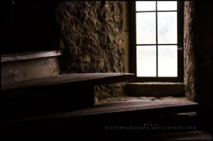 Stairs to nowhere by Tiefenschaerfe