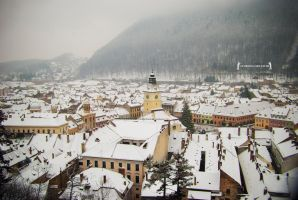 Brasov under the snow by rockmylife