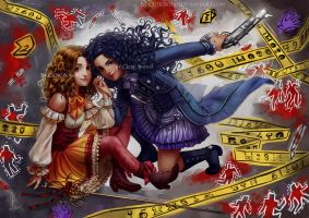 Puellae Magi Rizzoli and Isles Magica by CelticBotan