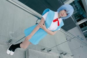 Rei Ayanami Cosplay by MaryMagika