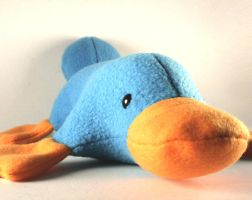 Pluto the Platypus Plushie by Saint-Angel