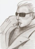 wesker style by kanetosama