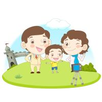 Family Illustration 11 by CARFillustration
