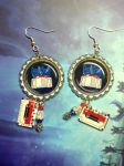 Soundwave Earings by Laserbot