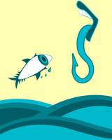 Surrealist Hook graphic by chicamiseria