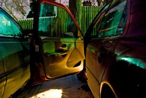 Colourful Car Door by photosynthetique