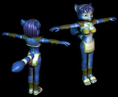 Krystal in 3D by CharleyFox