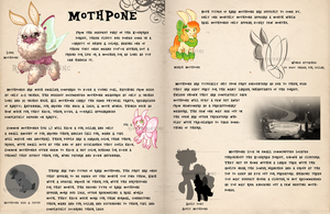 Species Sheet: Mothpone by RobotBunnyInc