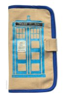 Doctor Who Inspired Travel Wallet by smashworks