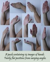 Hand References 1 by Tasastock