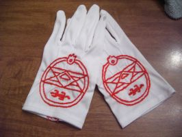 Roy Mustang's Ignition Gloves by Turtle-horse