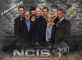 NCIS 300 episodes - 2016 by silverfox2159