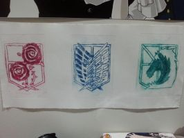 Attack on Titan Symbols by BellaUsui