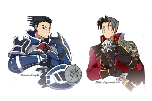 Ace Attorney 1 by Hydro-King