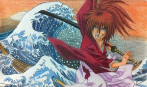 himura kenshin and umi no hi by eve1789