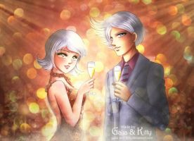 Commission: Party by galia-and-kitty