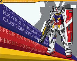 Gundam Vector Project 01 RX-78-2 by AMO17
