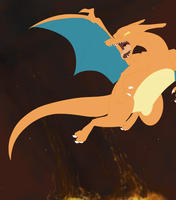 Charizard WIP by BatLover800