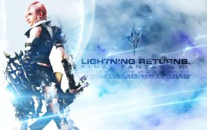 Lightning Farron Wallpaper by FallenSoldier-X