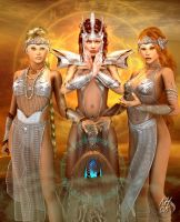 Ragnaroek : The Goddesses by Erulian