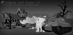 Tiger II with Princess Celestia and Princess Luna by DarkLunaBlackstar
