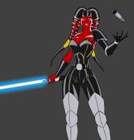 Jaden Korr - dark side  WIP by JosephB222
