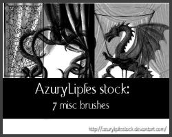Misc psp brushes by AzurylipfesStock