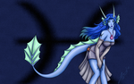 Pisces Dragon Wallpaper by lynkx-ie