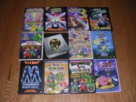 My Nintendo DVDs by nintendomaximus
