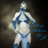 Jill's Halloween Costume by IamRinoaHeartilly
