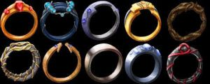 Ring Icon Set by Caetis