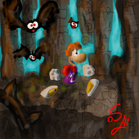 Rayman legends by SEBASTIEN11