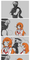 HayabusaxKasumi Let's Pocky by YestherDey