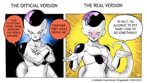The Truth about why Frieza exterminated Sayajins by Turbotastique