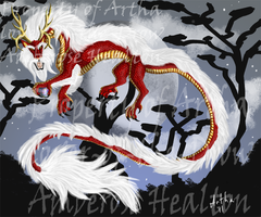 Oriental Dragon by lover-of-the-Drow