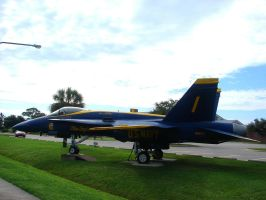 Blue Angels Parking 3 by FantasyStock
